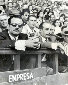 In an attempt to strengthen the Mexican baseball league, Jorge Pasquel (left; shown here with his brother Bernardo) attempted to lure talented Major Leaguers south with lavish salary offers.