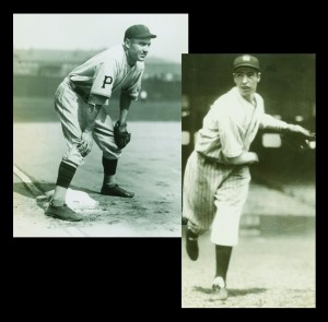 "In addition to being named as two of baseball's greatest players of all time, Pie Traynor and Joe DiMaggio also made the list as the"" greatest living players"" in 1969."