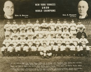 Some of Red Ruffing's best seasons were with the Yankees from 1936 to 1939. He won 20 or more games each year to help New York capture four consecutive World Series championships. Considered one of the greatest Yankees of all time, the six-time All Star was elected to the Baseball Hall of Fame in 1967.