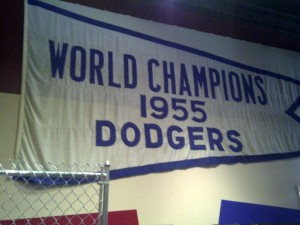 1955 Dodgers Pennant