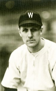 Ossie Bluege played for all three of Washington's pennant winners.