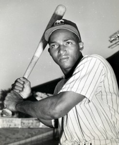 Vic Power, shown here in 1953, was the last active Philadelphia Athletics player.
