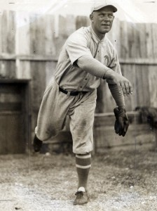Pitcher Jack Quinn started his major league career with the New York Highlanders in 1909.