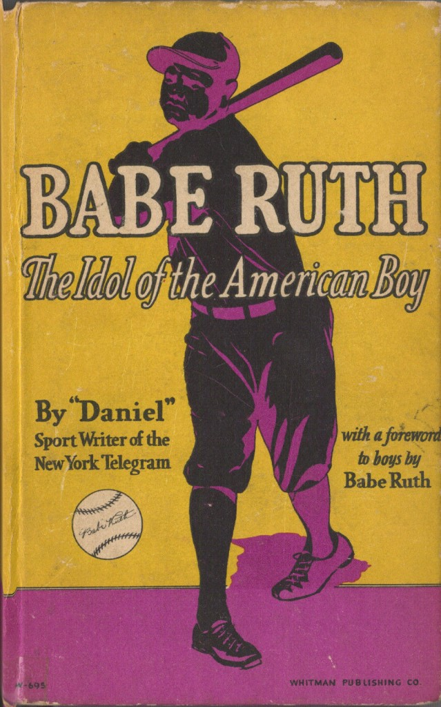 Dan Daniel penned this Ruth biography in 1930s, complete with player reflections of Ruth and images from Charles Conlon.