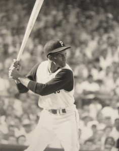 Roberto Clemente batted .310 with three RBI in the series and helped the underdog Pittsburgh Pirates to their first World Championship title.