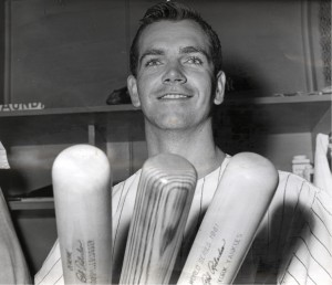 The only player in Major League history to win the World Series MVP from a losing team is Bobby Richardson of the 1960 New York Yankees. Courtesy of the National Baseball Hall of Fame Library, Cooperstown, NY