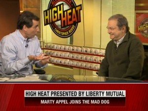 High Heat: Marty Appel 02/10/16 Marty Appel sits with Chris Russo on High Heat to talk about baseball as well as his writing career